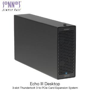 SONNET ソネット テクノロジー Echo III Desktop 3-Slot Desktop Thunderbolt 3 to PCIe card Expansion System ECHO-3D-TB3 ネコポス不可|ec-kitcut