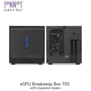 SONNET ソネット テクノロジー eGPU Breakaway Box 750 Thunderbolt 3-to-eGPU PCIe Card Expansion System GPU-750W-TB3 ネコポス不可|ec-kitcut
