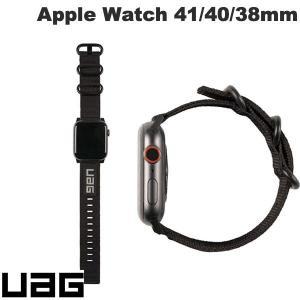 Apple Watch バンド UAG ユーエージー Apple Watch 38mm / 40mm NATO ECO 高強度 ナイロン製バンド ブラック UAG-AWSNE-BK ネコポス送料無料|ec-kitcut