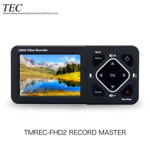 Tec テック RECORD MASTER2 3.5インチ 液晶搭載 充電式バッテリー内蔵 メディアレコーダー TMREC-FHD2 ネコポス不可|ec-kitcut