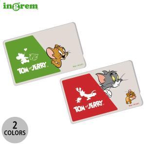 パスケース子ども用 ingrem トムとジェリー ICカードステッカー  イングレム ネコポス可|ec-kitcut