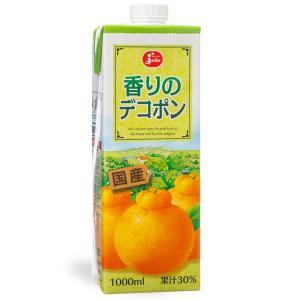 ジューシー 香りのデコポン【1000ml紙×6本入】|ec-kumakaren