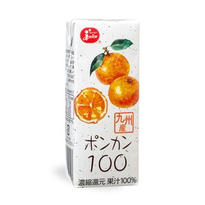 ジューシー ポンカン100%【200ml紙×24本入】|ec-kumakaren