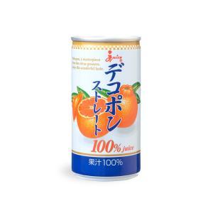 ジューシープレミアム デコポンストレート100%【190g缶×30缶入】|ec-kumakaren