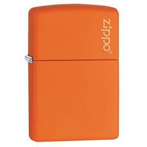 ZIPPO(ジッポー) 200ベース レギュラーサイズ マットシリーズ オレンジ 231ZL|ec-malls