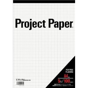 オキナ プロジェクトペーパー A4 5ミリ方眼 100枚 PPA45S ec-malls