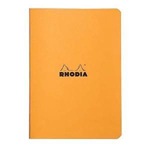 ロディア ホチキス留めノート A5 クラシック 方眼罫 オレンジ cf119184 ec-malls