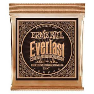 【正規品】 ERNIE BALL 2548 アコースティックギター弦 (11-52) EVERLAST COATED PHOSPHOR BRONZE|ec-malls