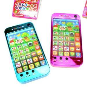 知育おもちゃ ペンちゃんタッチパネル スマートフォン型【青色】 1個|ec-malls