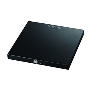 ロジテック DVDドライブ 外付け ポータブル USB3.0 USBType-Cコネクタ付 Microsoft Surface対応 書き込みソフト 付|ec-malls