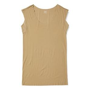 [グンゼ] インナーシャツ YG Tシャツ専用 in.T(インティー) CUT OFFシリーズ クルーネックスリーブレス 汗取りパッド付 メンズ クリ ec-malls