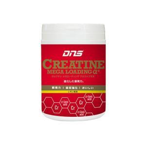 【ポイント10倍! ドーム 「α-リポ酸」配合 パワーアップしたクレアチン サプリメント レモン風味】dns CREATINE Mega Loading α+|ec-selector