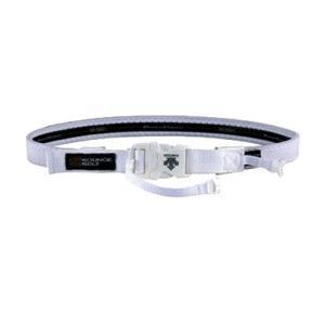 【このベルトが、あなたの身体を変える。 デサント ハードサポーター ホワイト】descente KOUNOE BELT DAT8505-WHT ec-selector