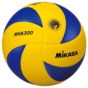 【ミカサ 一般・大学・高校用 バレーボール】mikasa 国際公認球 検定球5号 MVA200|ec-selector