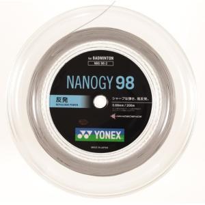 【ヨネックス バドミントン ストリングス コスミックゴールド(528)】yonex ナノジー98 200メートル NBG98-2|ec-selector