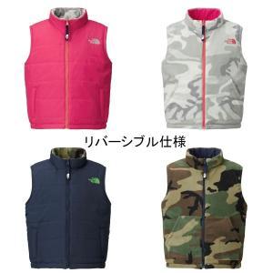 【ノースフェイス the north face Reversible Wind Vest(キッズ)NYJ81516】 ec-selector