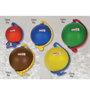 【激安 ニシ トレーニング用品 スウィングメディシンボール T5912 オレンジ】t5912 swing medicine 2kg ec-selector