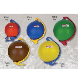 【激安 ニシ トレーニング用品 スウィングメディシンボール T5915 ブラウン】t5915 swing medicine 5kg ec-selector
