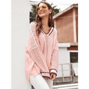 Drop Shoulder Loose Knit Sweater / ドロップショルダールーズニット...