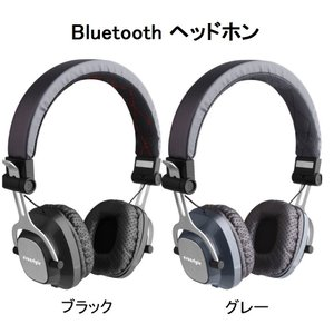 ヘッドセット ワイヤレス ステレオ イヤホン Bluetooth3.0+ EDR マイク付 MP3プレーヤー/MicroSD / TF 音楽 /FMラジオ 4in1 多機能 LH-811 Ecandy