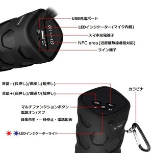 Bluetooth スピーカー ブルートゥー ...の詳細画像3