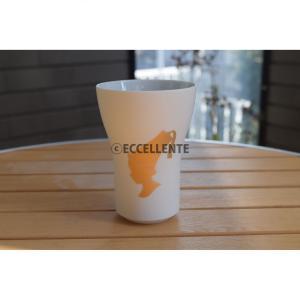 【アイテム紹介】 ゴールドでプリントされたカフェボーイとマットな質感が高級感を感じさせるフリーカップ...