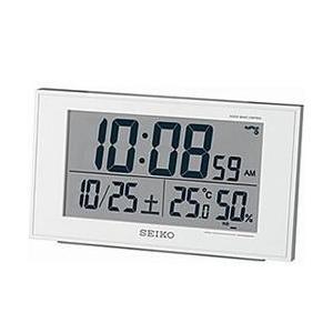 セイコー SQ758W 電波目覚まし時計の商品画像