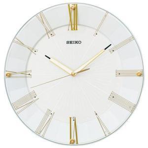 セイコー KX214H(白パール) 電波掛け時計の商品画像