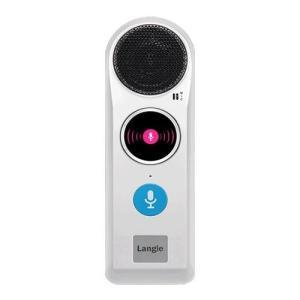 デバイスネット RW115 Langie(ランジー) 音声翻訳機 52言語対応 WiFiモデル eccurrent