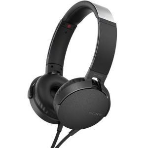ソニー MDR-XB550AP-B(ブラック) ステレオヘッドホン