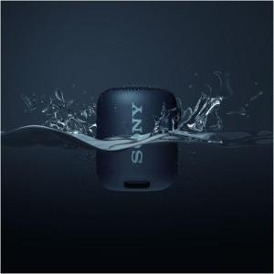 ソニー SRS-XB12-B(ブラック) EXTRA BASS ワイヤレスポータブルスピーカー