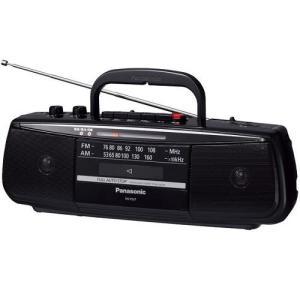 パナソニック RX-FS27-K ステレオラジオカセットレコーダー(ブラック)