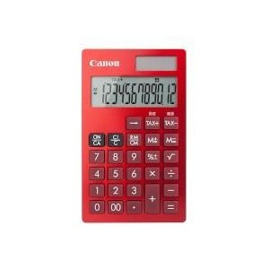 CANON KS-12T-RD(赤) ビジネス電卓 12桁|eccurrent