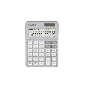 CANON KS-125WUC-SL(プラチナシルバー) KS-125シリーズ カラフル電卓 12桁|eccurrent