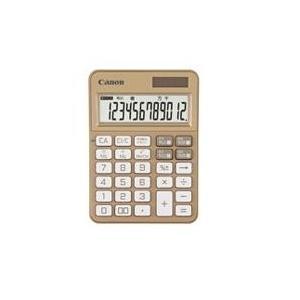 CANON KS-125WUC-GD(シャンパンゴールド) KS-125シリーズ カラフル電卓 12桁|eccurrent