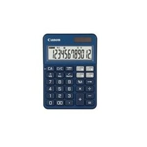 CANON KS-125WUC-BL(インディゴブルー) KS-125シリーズ カラフル電卓 12桁|eccurrent