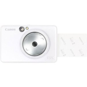CANON iNSPiC(インスピック) ZV-123-PW(パールホワイト) インスタントカメラプリンター|eccurrent