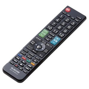 エレコム ERC-TV01BK-LG(ブラック) かんたんTV用リモコン LG用