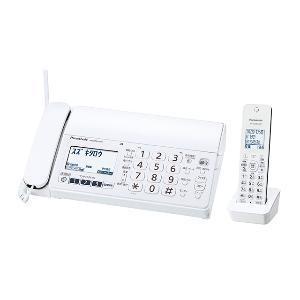 パナソニック KX-PZ210DL-W(ホワイト) おたっくす デジタルコードレス普通紙ファクス 子機1台付|eccurrent