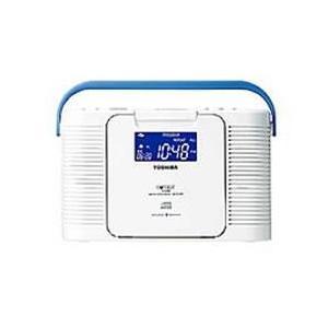 東芝 TY-CDB5-W(ホワイト) 防水CDクロックラジオ|eccurrent