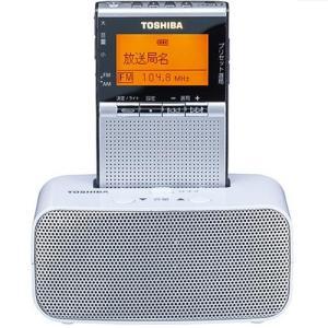 東芝 TY-SPR7-S(シルバー) AM/FMラジオ|eccurrent
