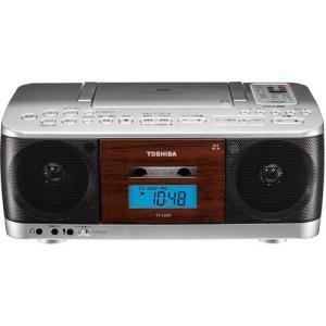 東芝 TY-CDK9-S(シルバー) CDラジオカセットレコーダー ワイドFM対応|eccurrent