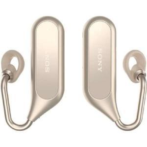 ソニー XEA20-N(ゴールド) Xperia Ear Duo ワイヤレスオープンイヤーステレオヘ...