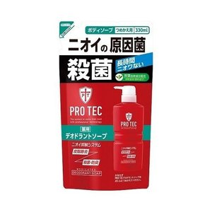 ライオン PRO TEC STYLE(プロテクスタイル) デオドラントソープ 詰替用 330ml eccurrent