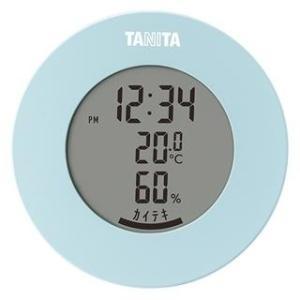 タニタ TT-585-BL(ライトブルー) デジタル温湿度計