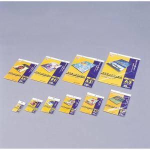 アイリスオーヤマ LZ-NC20 ラミネートフィルム 100ミクロン 名刺サイズ 20枚入り eccurrent
