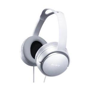 ソニー MDR-XD150-W(ホワイト) ステレオヘッドホン|eccurrent