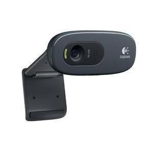 ロジクール C270 グレー&ブラック HD Webcam|eccurrent