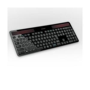 ロジクール k750r ワイヤレス ソーラー キーボード|eccurrent