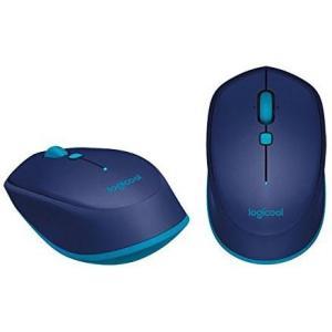 ロジクール M337BL(ブルー) Bluetooth レーザーマウス 6ボタン|eccurrent